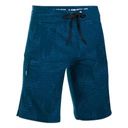 Under Armour Reblek Printed Mens Board Shorts, Blackout Navy-Black-Glacier Gr, 256