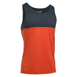 Under Armour Fractal Tank Top, Dark Orange-Stealth Gray-Dark, 256