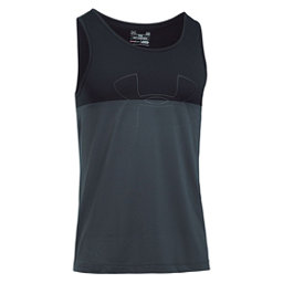 Under Armour Fractal Tank Top, Stealth Gray-Black-Stealth Gra, 256