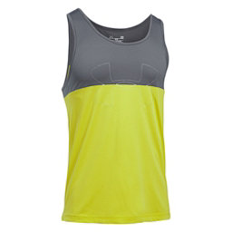 Under Armour Fractal Tank Top, Smash Yellow-Graphite-Smash Ye, 256