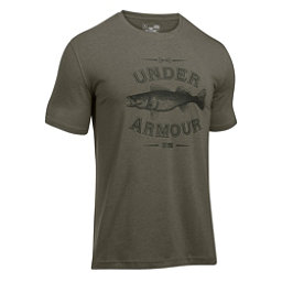 Under Armour Classic Walleye Mens T-Shirt, Foliage Green-Artillery Green, 256