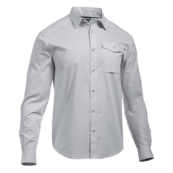 Under Armour Backwater Mens Shirt, Glacier Gray-White, 600