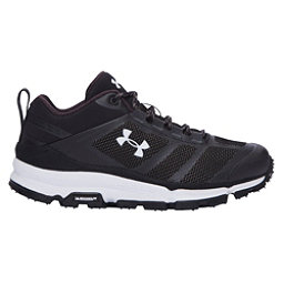 Under Armour Verge Low Womens Athletic Shoes, Black-Black-White, 256