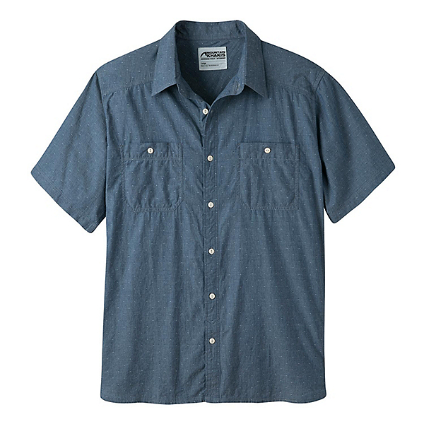 Mountain Khakis Ace Indigo Short Sleeve Mens Shirt, , 600