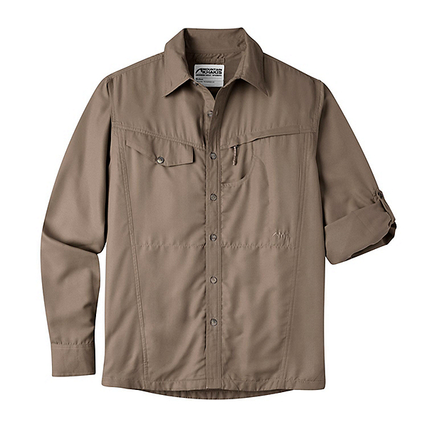 Mountain Khakis Trail Creek Long Sleeve Mens Shirt, Firma, 600