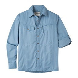 Mountain Khakis Trail Creek Long Sleeve Mens Shirt, Blue Ridge, 256