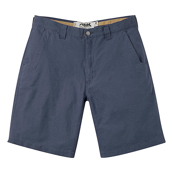Mountain Khakis Boardwalk 10in Relaxed Fit Mens Shorts, Midnight Blue Solid, 600