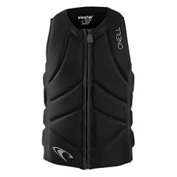 O'Neill Slasher Comp Adult Life Vest 2018, Black-Black, 256