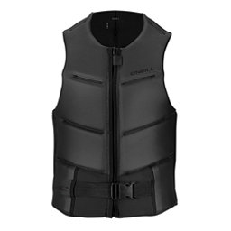 O'Neill Outlaw Comp Adult Life Vest 2018, Black-Black, 256