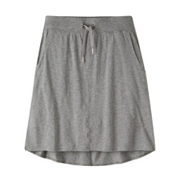 Mountain Khakis Solitude Relaxed Fit Skirt, Heather Grey, 256