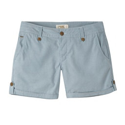 Mountain Khakis Island Relaxed Fit Womens Shorts, Blue Ridge, 256