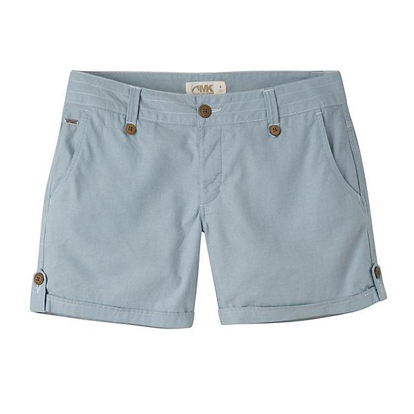 Mountain Khakis Island Relaxed Fit Womens Shorts, Blue Ridge, 600