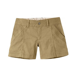 Mountain Khakis Camber 104 Hybrid Slim Fit Womens Shorts, Desert Khaki, 256