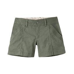 Mountain Khakis Camber 104 Hybrid Slim Fit Womens Shorts, Olive Drab, 256