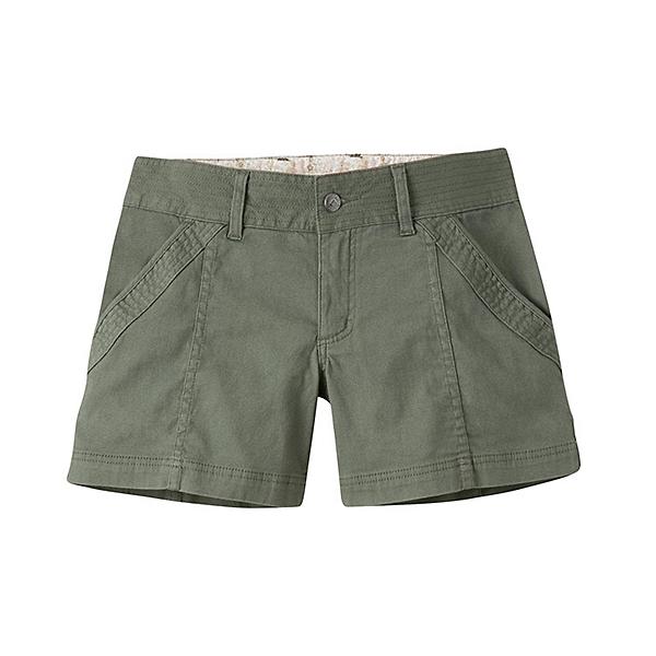 Mountain Khakis Camber 104 Hybrid Slim Fit Womens Shorts, Olive Drab, 600