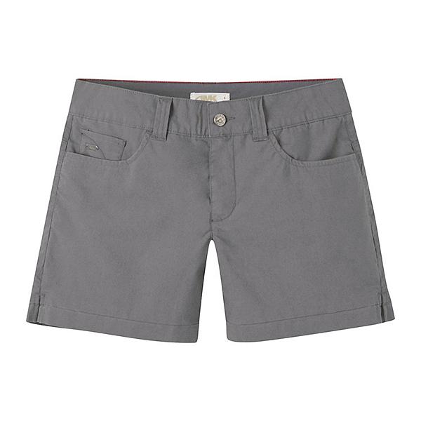 Mountain Khakis Poplin 7in Slim Fit Womens Shorts, Gunmetal, 600