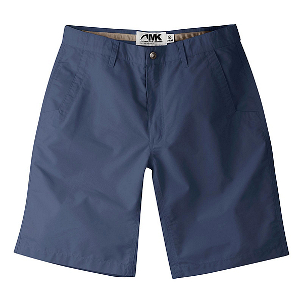 Mountain Khakis Poplin 10in Relaxed Fit Mens Shorts, Navy, 600