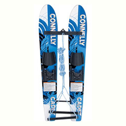 Connelly Cadet Junior Combo Water Skis With Child Slide Adjustable Bindings 2018, , 256