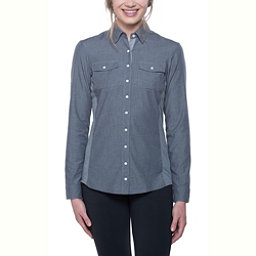 KUHL Kiley Long Sleeve Womens Shirt, Charcoal, 256