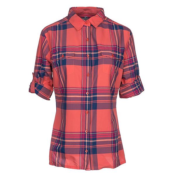 KUHL Mable Long Sleeve Womens Shirt, Guava, 600