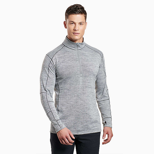 KUHL Alloy Mens Sweater, Cloud Gray, 600