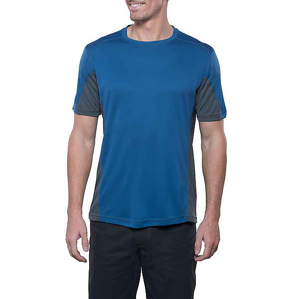 KUHL Shadow Tee Mens T-Shirt, Blue Depths, 600