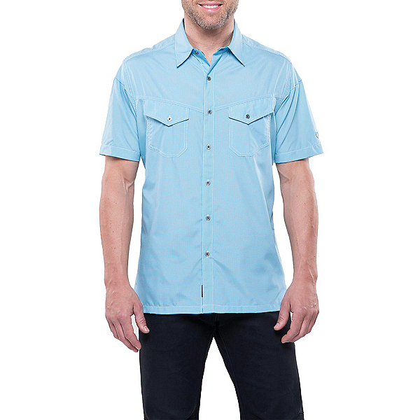 KUHL Stealth Mens Shirt, Air Blue, 600