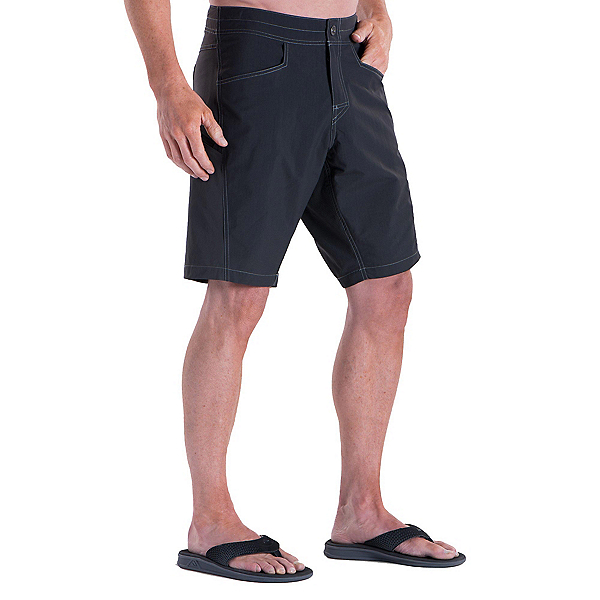 KUHL Mutiny River Mens Board Shorts, Raven, 600