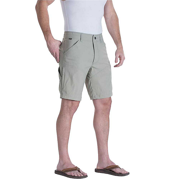 KUHL Renegade 10in Mens Shorts, Brushed Nickel, 600