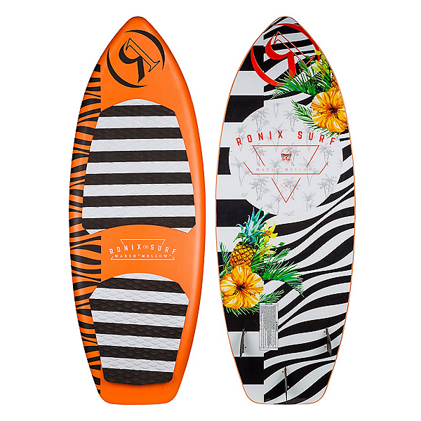 Ronix Marsh Mellow Thrasher Wakesurfer 2018, Orange Pineapple Express, 600