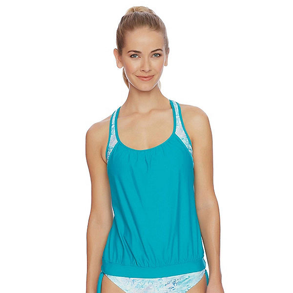 Next Serenity Double Up Tankini Bathing Suit Top, , 600