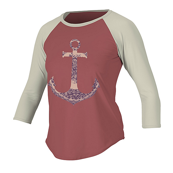O'Neill Graphic Long Sleeve 3/4 Womens Rash Guard, , 600