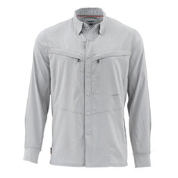 Simms Intruder Bicomp Long Sleeve Mens Shirt, Sterling, 256