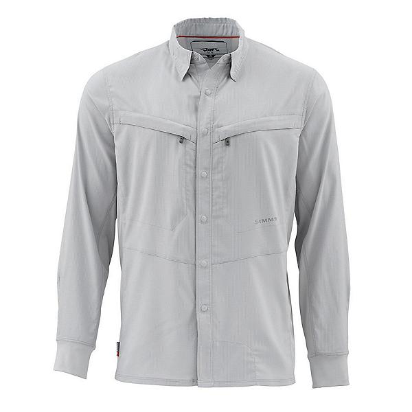 Simms Intruder Bicomp Long Sleeve Mens Shirt, Sterling, 600