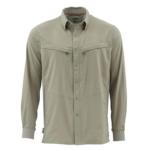 Simms Intruder Bicomp Long Sleeve Mens Shirt, , 600