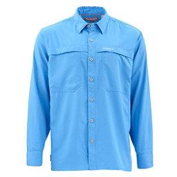 Simms Ebbtide Long Sleeve Mens Shirt, Harbor Blue, 256