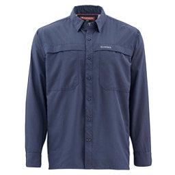 Simms Ebbtide Long Sleeve Mens Shirt, Oxford Blue, 256