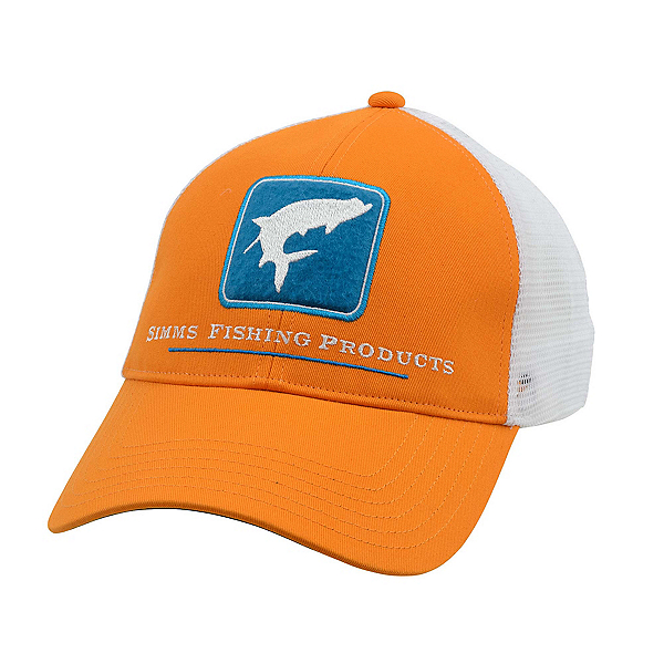 Simms Tarpon Trucker Hat, Burnt Orange, 600