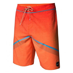 O'Neill Hyperfreak Mens Board Shorts, Neon Orange, 256