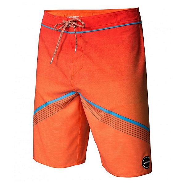 O'Neill Hyperfreak Mens Board Shorts, Neon Orange, 600