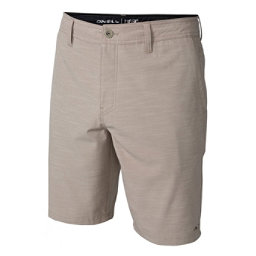 O'Neill Locked Slub Mens Hybrid Shorts, Khaki, 256