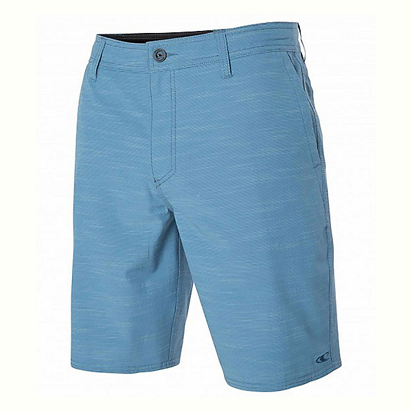 O'Neill Locked Slub Mens Hybrid Shorts, Dusty Blue, 600