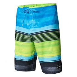 O'Neill Hyperfreak Heist Mens Board Shorts, Lime, 256