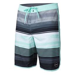 O'Neill Hyperfreak Heist Scallop Mens Board Shorts, Aqua, 256