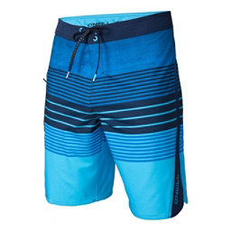 O'Neill Superfreak Status Mens Board Shorts, Blue, 256