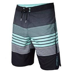 O'Neill Superfreak Status Mens Board Shorts, Asphalt, 256