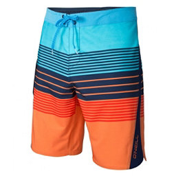 O'Neill Superfreak Status Mens Board Shorts, Orange, 256