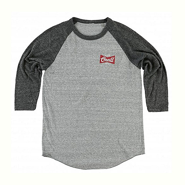O'Neill Brewer Raglan Mens Shirt, , 600