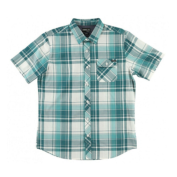 O'Neill Plaid Mens Shirt, Ink, 600