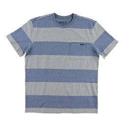 O'Neill Watson Crew Mens T-Shirt, Blue, 256